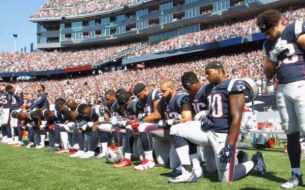 patriots-protest