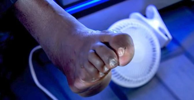 SHAQ'S FEET-A NIGHTMARE ON ELM STREET - Diary Of A Mad Mind